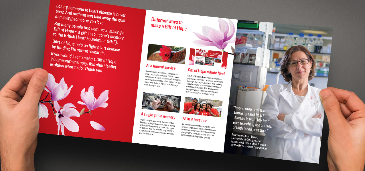 British Heart Foundation - In Memory brand and communications
