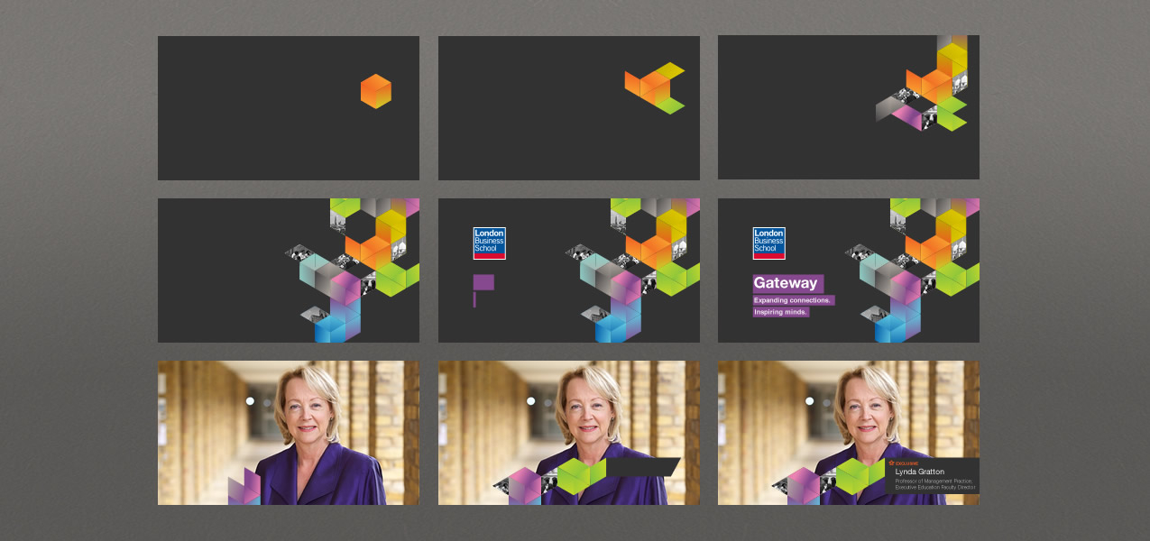 London Business School - Executive Education Alumni Scheme Branding
