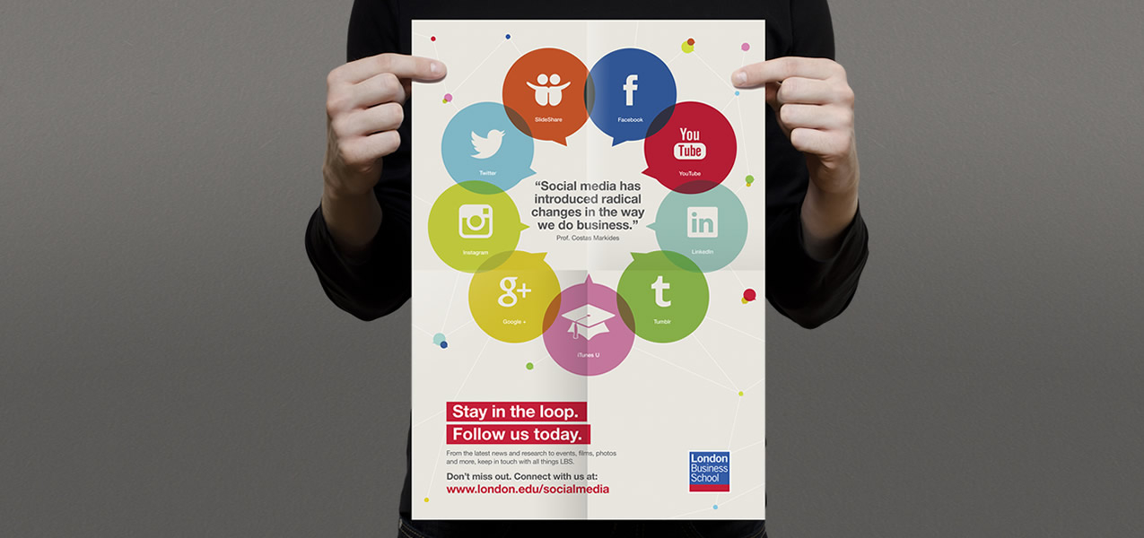 London Business School - Social media campaign
