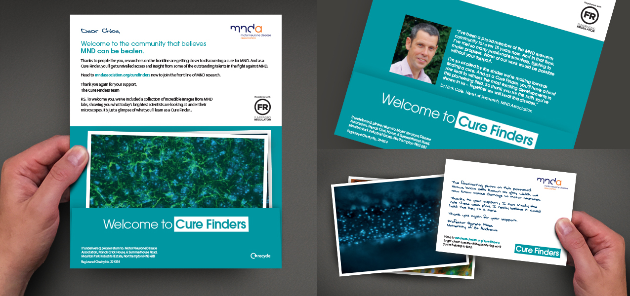 Motor Neurone Disease Association - Cure Finders – the MND Association's new regular giving product