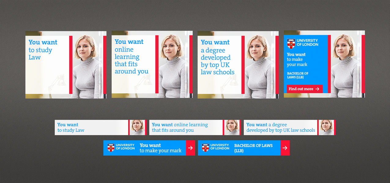 University of London - Display advertising