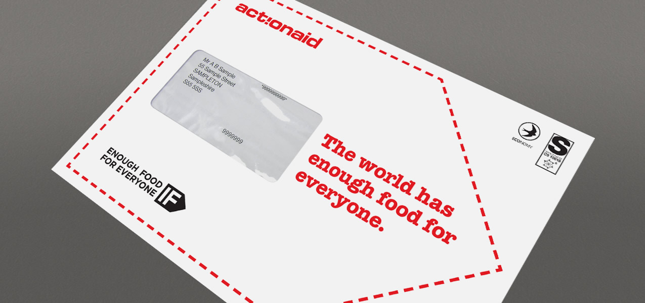 ActionAid - IF campaign direct mail