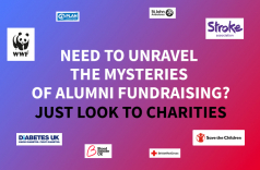 Need to unravel the mysteries of alumni fundraising? Just look to charities