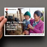British Red Cross - Legacy prospecting mailing