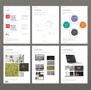 London School of Economics - Brand identity for The Marshall Institute