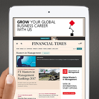 London School of Economics - Global advertising campaign